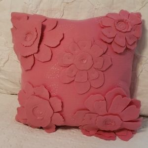 Pottery Barn Pink Pillow Cover